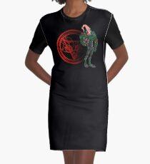 Jim's Upgrade Graphic T-Shirt Dress