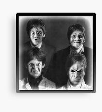 The Freaky Fab Four Canvas Print