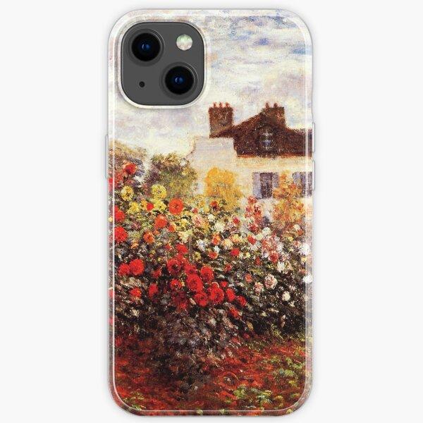 Der Garten des Künstlers in Argenteuil - Claude Monet iPhone Flexible Hülle