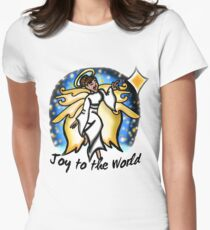 Dancing for Joy Women's Fitted T-Shirt