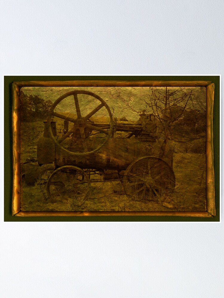 Alternate view of Steam Tractor Poster