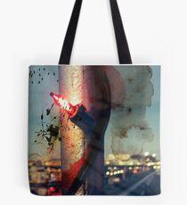worldline divide Tote Bag