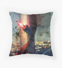 worldline divide Throw Pillow