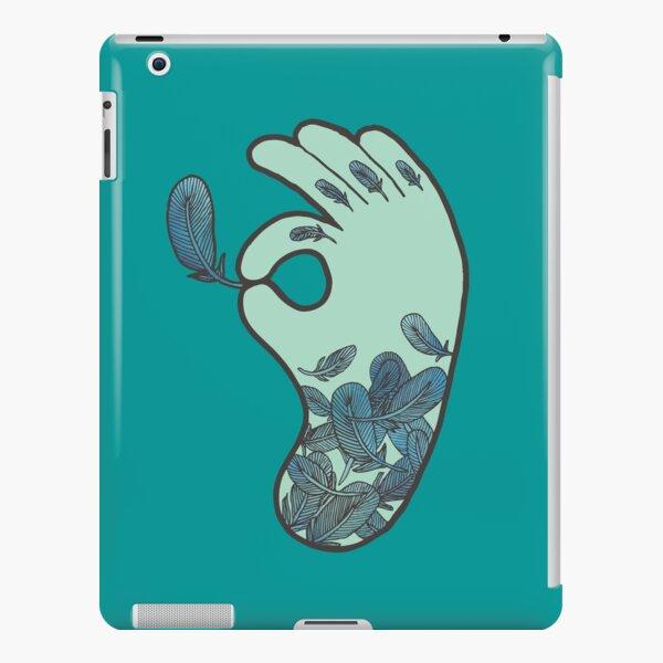 Blue Feather Tattoo iPad Snap Case