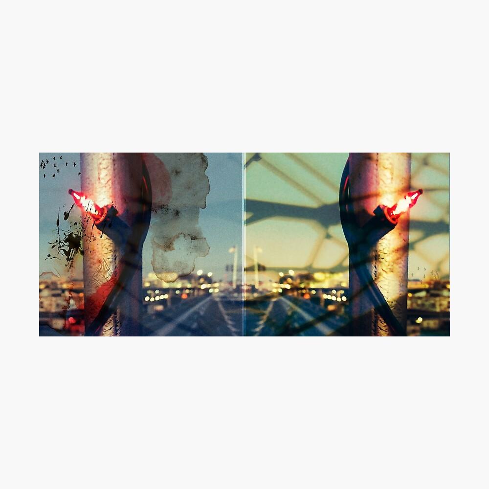worldline divide Photographic Print