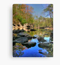 Big Rock - Beargrass Creek - Cherokee Park  Metal Print