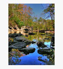 Big Rock - Beargrass Creek - Cherokee Park  Photographic Print