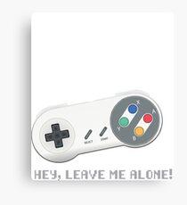 Joypad Super Nintendo Starfox Canvas Print