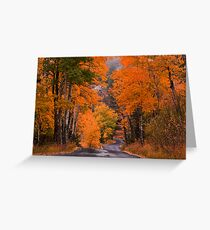 Autumn Travels Greeting Card