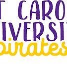 East Carolina University by Pop 25