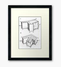 concept Framed Print