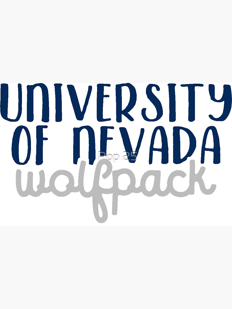 University of Nevada by pop25