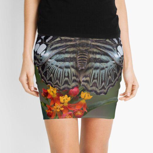 Clipper butterfly Mini Skirt