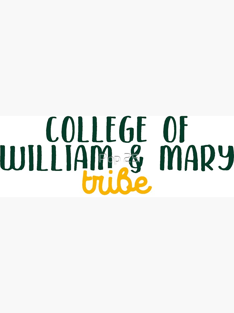 College of William & Mary by pop25