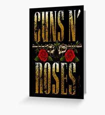 Guns N´ Roses, GNR Greeting Card