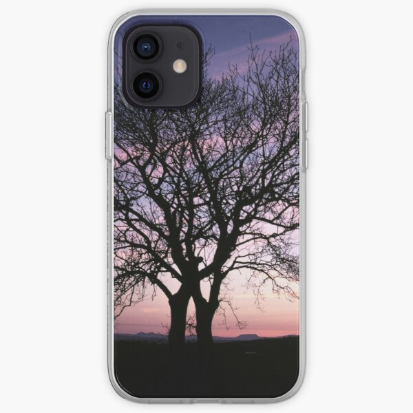 Two Trees embracing iPhone Soft Case