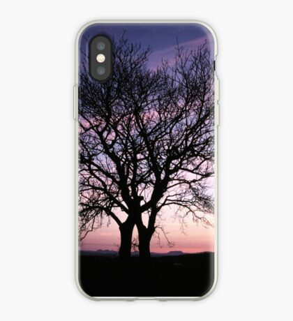 Two Trees embracing iPhone Case