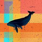«Whale Patchwork» de Letter-Q