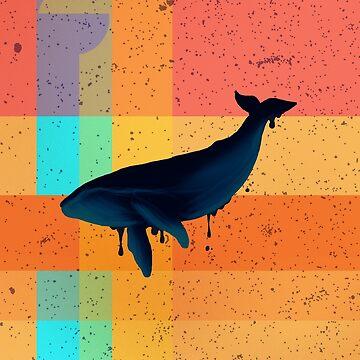 Whale Patchwork de Letter-Q