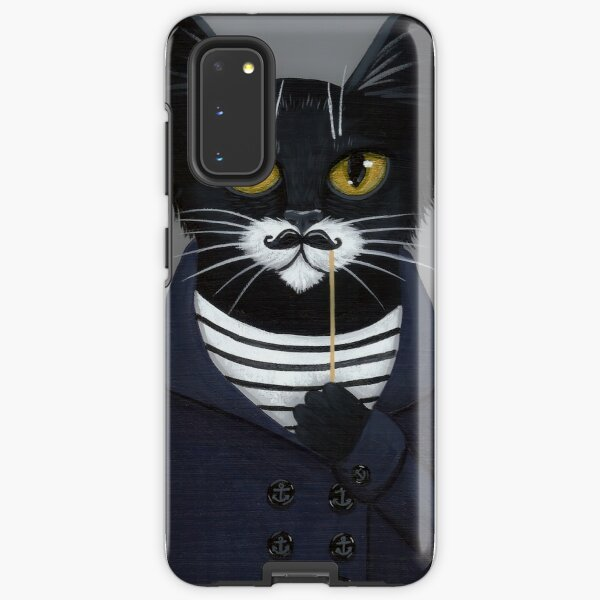 The Hipster Cat Samsung Galaxy Tough Case