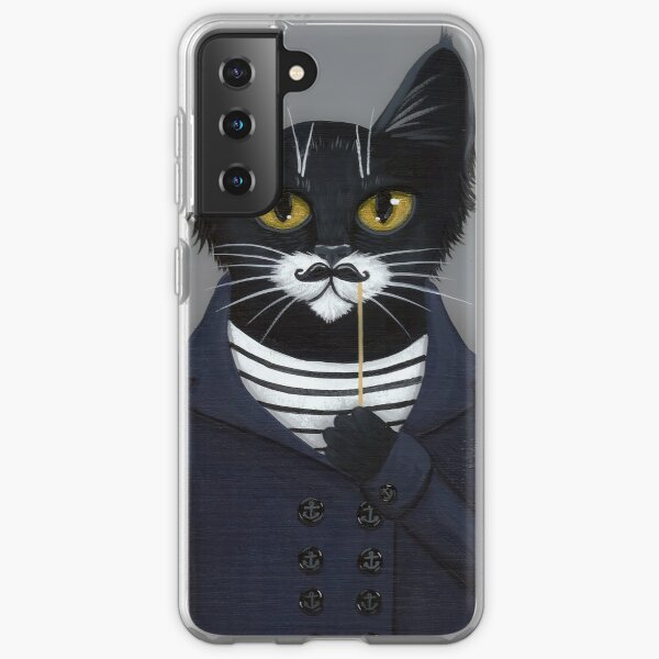 The Hipster Cat Samsung Galaxy Soft Case