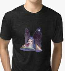 BUTTERFLY COLOR Tri-blend T-Shirt