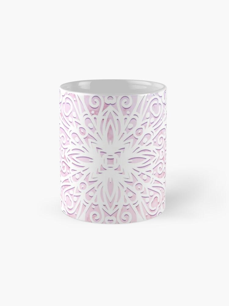 Alternate view of Candyfloss Mandala Mug