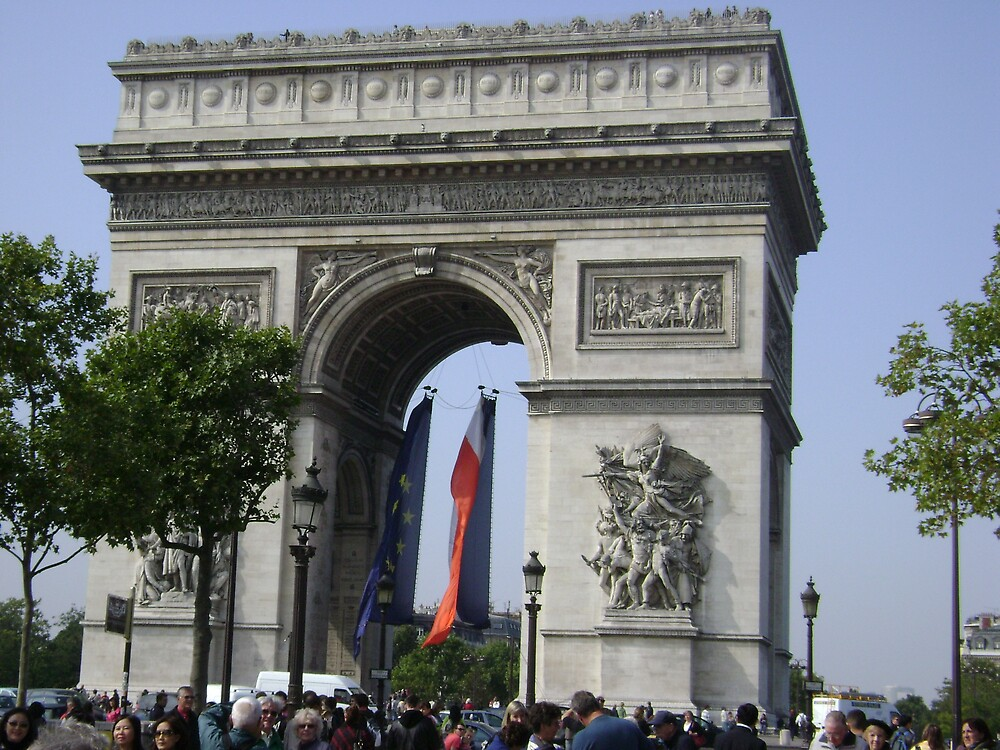 arc de triomphe by emant
