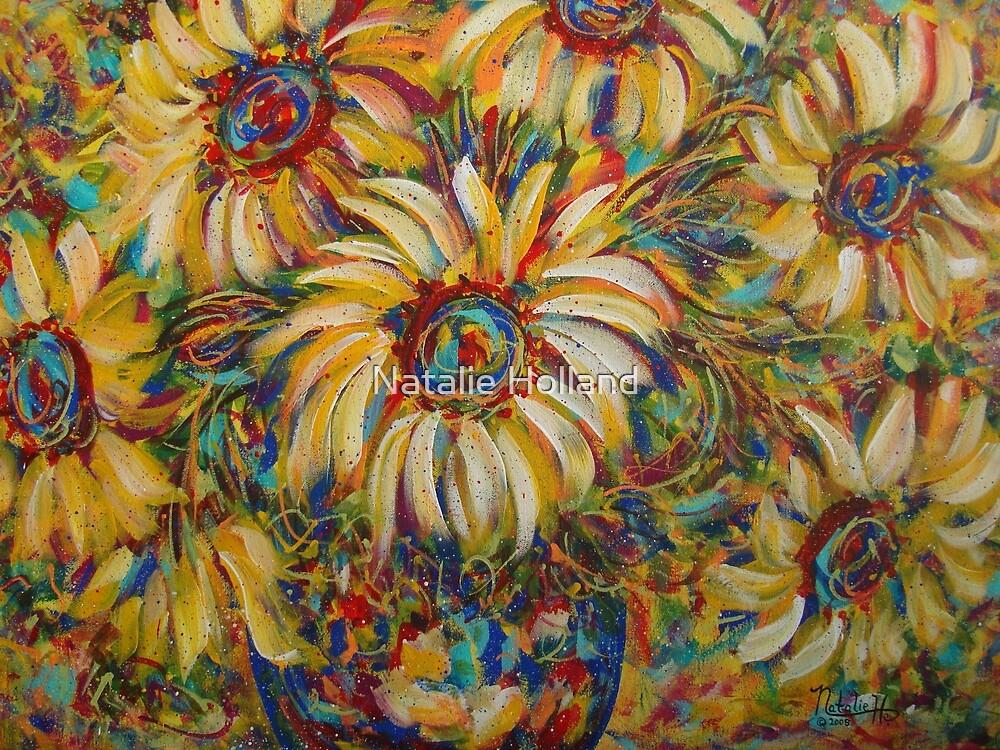 Burst Of Sunflowers by Natalie Holland