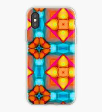 Seamless Digital Abstract Pattern iPhone Case