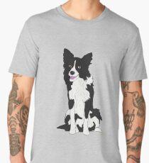 Border Collie  Men's Premium T-Shirt