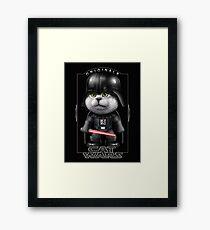 CAT VADER 2017 - ORIGINALS Framed Print