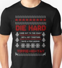 Die Hard 2018 Christmas Jumper Unisex T-Shirt