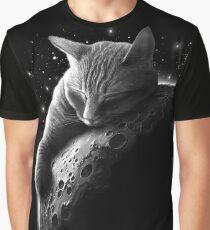 MOONCAT  Graphic T-Shirt