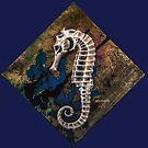 Seahorse Skeleton by JLAnichowski