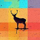 «Patchwork de los ciervos» de Letter-Q
