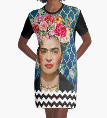 Forever Frida Graphic T-Shirt Dress