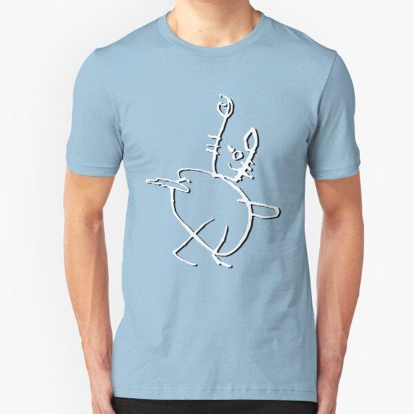 Cat shadow Slim Fit T-Shirt