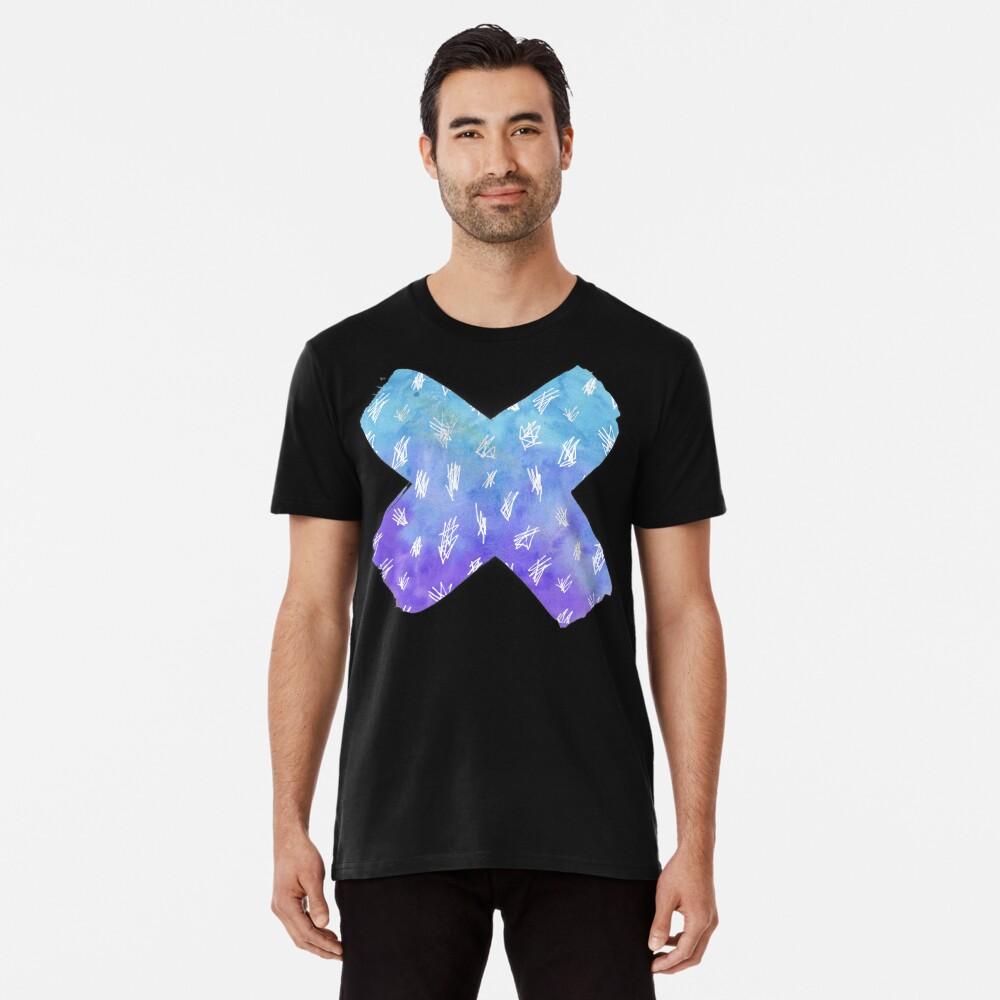 Watercolour X  Premium T-Shirt