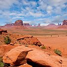 Monument Valley from North Window Overlook by Jeff Goulden
