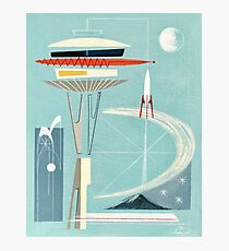 Space Needle Surprise  Photographic Print