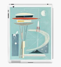 Space Needle Surprise  iPad Case/Skin
