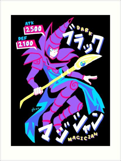 DARK MAGICIAN (ブラック・マジシャン) by glrev