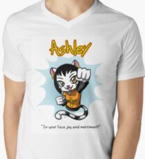 Ashley from 'My Cage' V-Neck T-Shirt