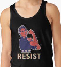 Widerstehen Sie und marschieren Sie weiter mit Rosie the Riveter Tank Top