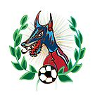 Wolf Football Superstar by riomarcos