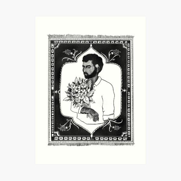MUSTAFA  Art Print