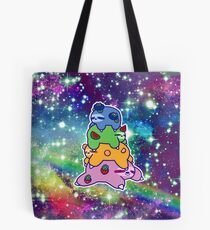 Sloth Fruit Stack Rainbow Space Tote Bag