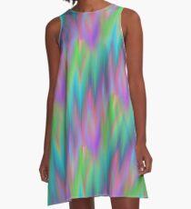 Stay Trippy, Hippie A-Line Dress