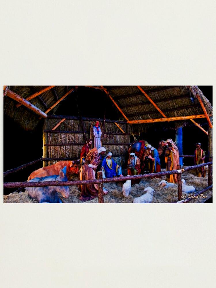 Alternate view of Nativity Scene Photographic Print